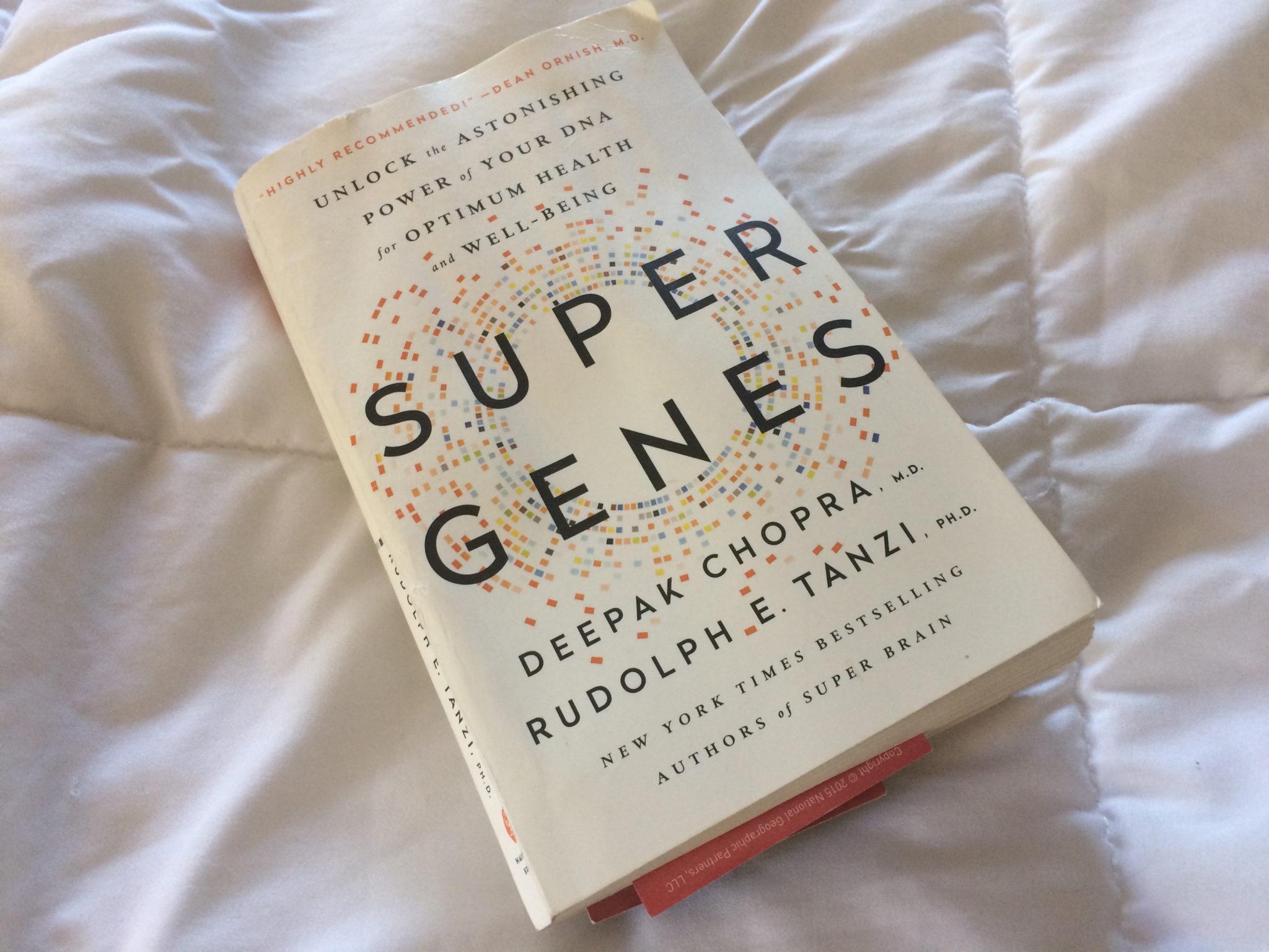 Blogging For Book – Super Genes